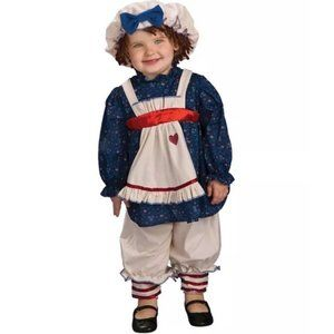 Yarn Babies Dolly Toddler Halloween Costume 2-4 T